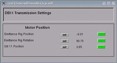 DB11 Transmission Panel